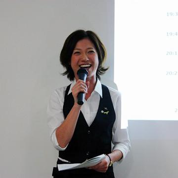 SIMブロガーイベントを教えて!goo「SIM通」 アプリソムリエの石井寛子さん