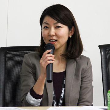 SIMブロガーイベントを教えて!goo「SIM通」 ASUSマーケティング部システム・プロダクトマーケティングスペシャリストのSeikoさん